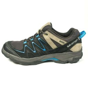 Details about Salomon Wings Pro 2 Blue and Black Neon Mens Trail Running Shoes Size 9 US NWT